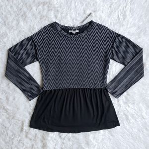 People Like Frank women's medium fit and flare top